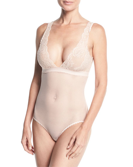 Sophie Surprising Lace-Cup Bodysuit