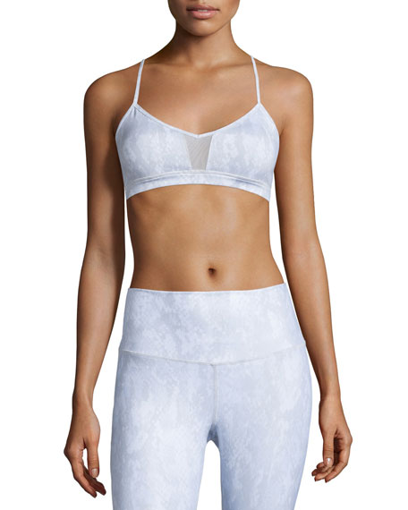 Alo Yoga Goddess Mesh-Panel Sports Bra