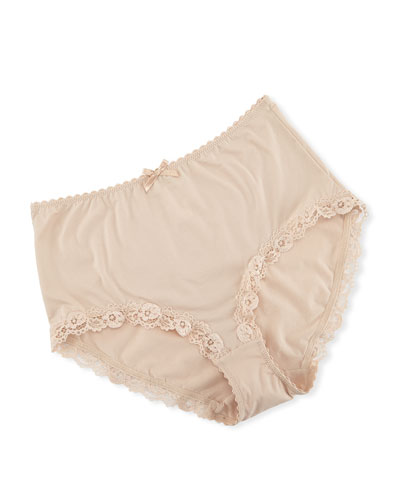 Valerie Lace-Trim Briefs