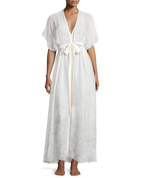 Antique Silk Nightgown
