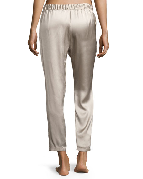Silk Track Lounge Pants