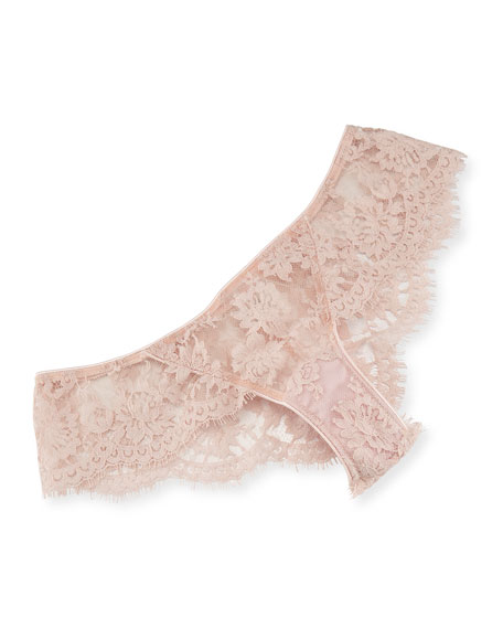 LA Ballerine Lace Briefs, Pink