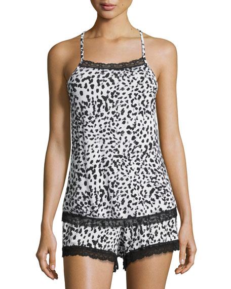 Cosabella Majestic Print Lounge Camisole, Leopard