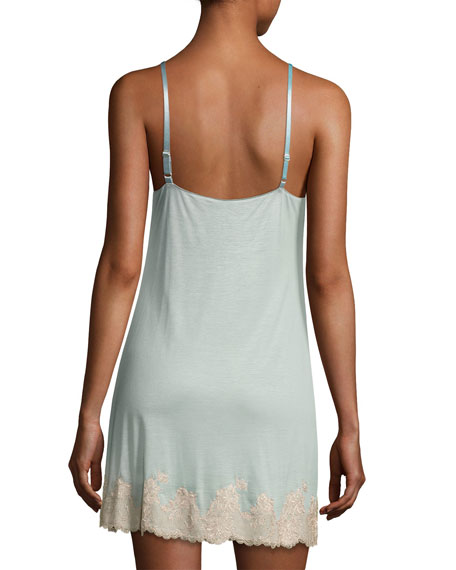 Charlize Lace-Trimmed Chemise