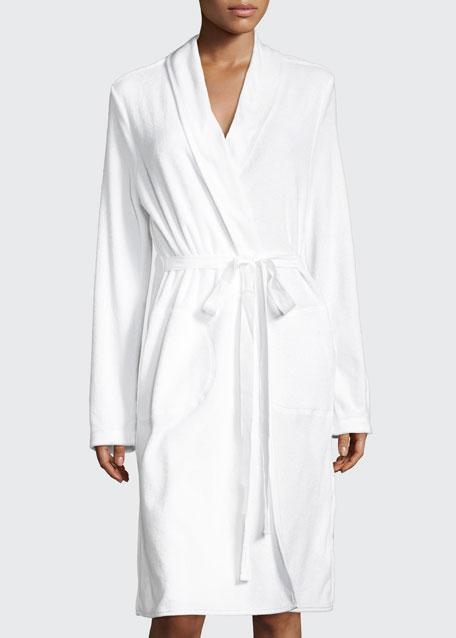 French Terry Wrap Robe
