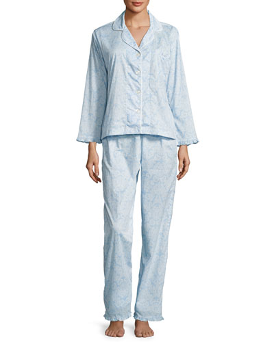 French Lace Classic Pajama Set