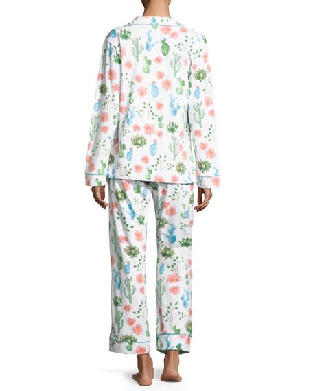 Marfa Long-Sleeve Classic Pajama Set