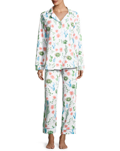 Marfa Long-Sleeve Classic Pajama Set
