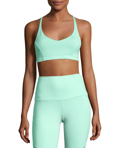 Pyramid Sports Performance Bra, Green