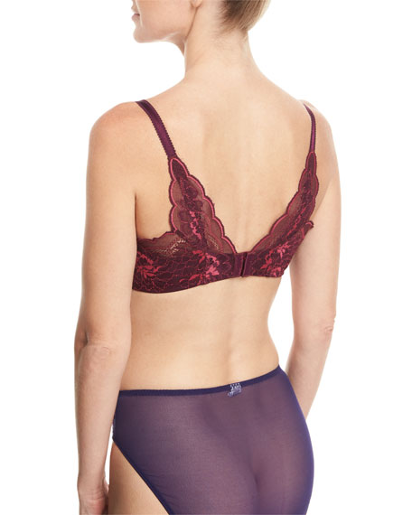 Fire and Lace Contour Bra