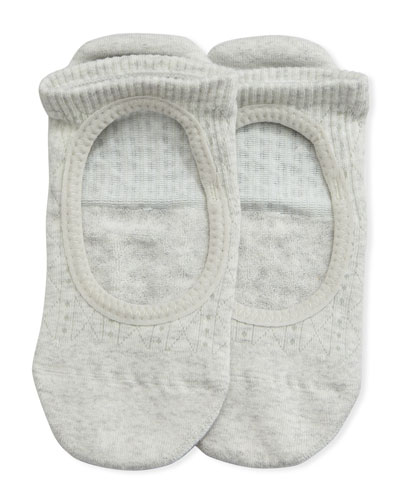 Grip Chey Tavi Smoke Athletic Socks, Light Gray