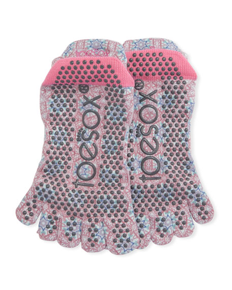 Bellarina Prism Grip Full Toe Athletic Socks, Multi Pattern