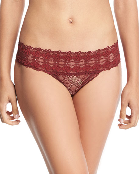 Jasmine Inspiring Lace Thong