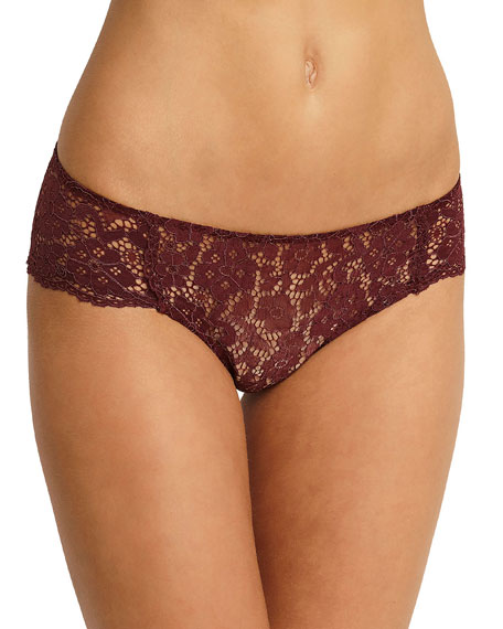 Lila Lace Hipster Briefs