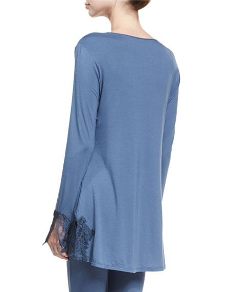Undercover Long-Sleeve Tunic Top