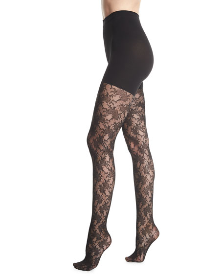 Spanx Lovely Lace Control-Top Tights