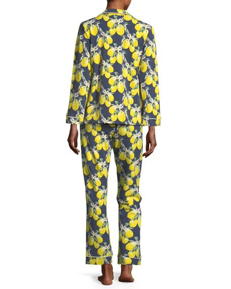 Let's Make Lemonade Long-Sleeve Pajama Set