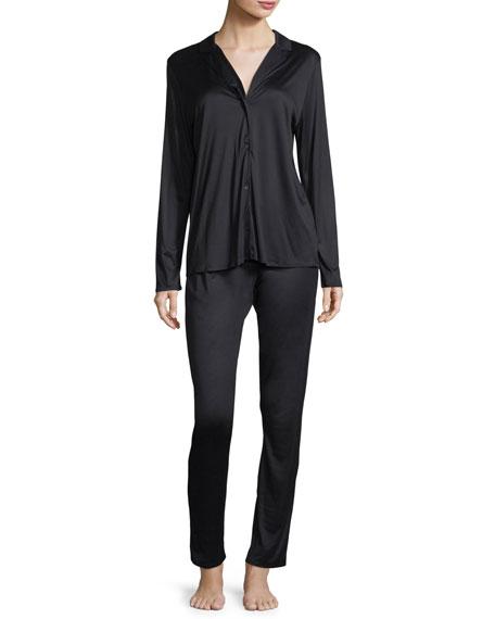 Estelle Long Silky Interlock Pajama Set