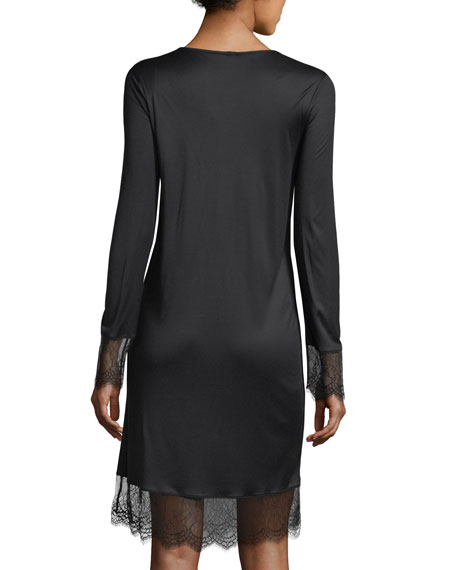 Estelle Long-Sleeve Nightgown