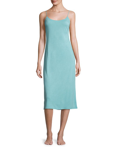 Shangri-La Nightgown, Blue Shell