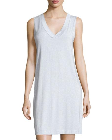 Champagne Tank Nightgown, Ashley Blue
