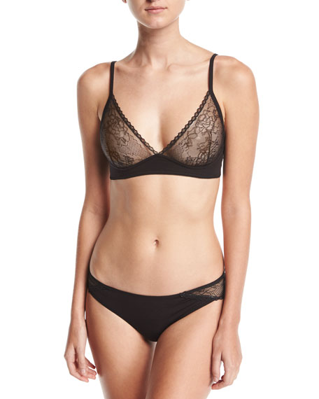 Gracen Lace Wire-Free Triangle Bra