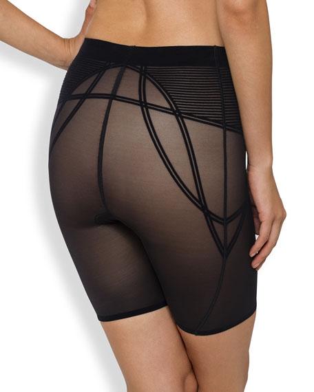 Sheer Decadence Shaping Shorts