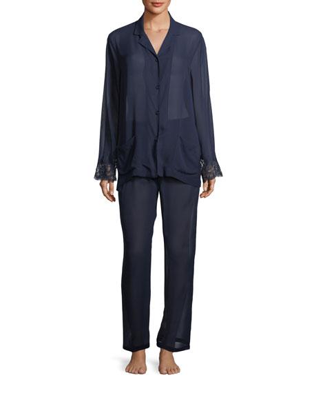 Soir De Venise Long Pajama Set