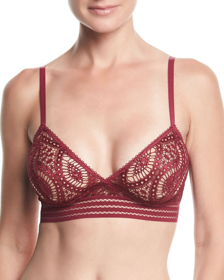 Else BAROQUE LACE TRIANGLE UNDERWIRE BRA
