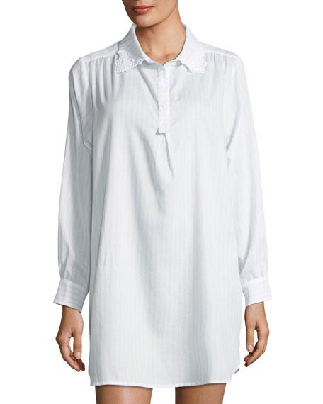 Undine Long-Sleeve Sleepshirt