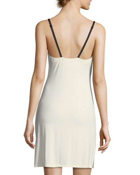 Delight Lace-Trim Nightgown