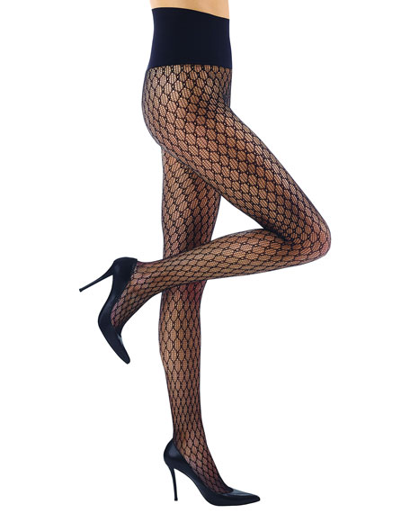 Chainlink Net Tights