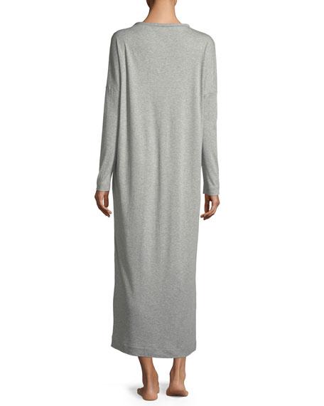 20b20f2c5e Hanro Enie Long-Sleeve Cotton Nightgown
