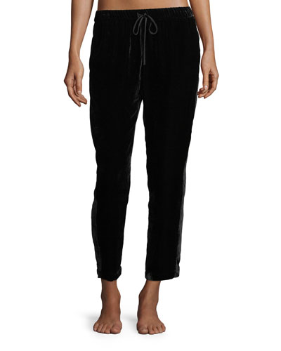 Luxe Velvet Slim Lounge Pants