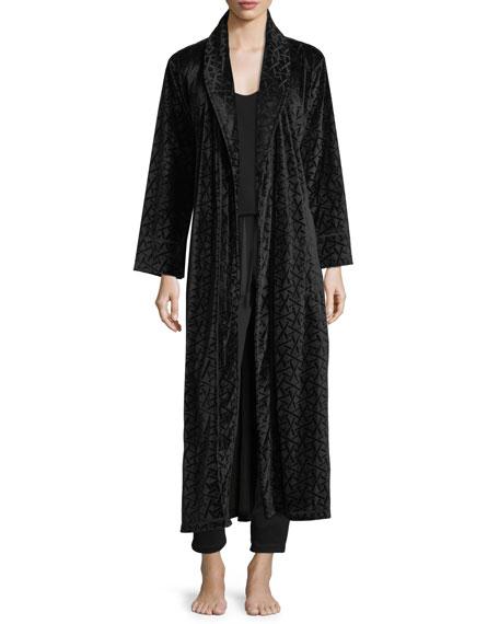 Trance Velvet Long Robe