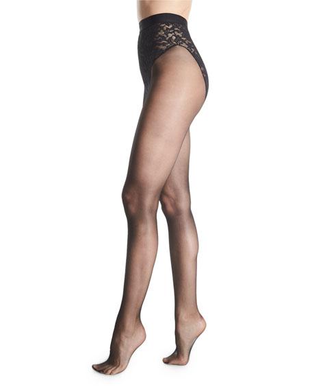7551b3899 Donna Karan Beyond Nudes Whisper Weight Control Top Tights
