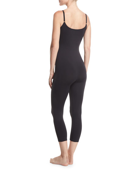 Sueded Jersey Shapewear Jumpsuit
