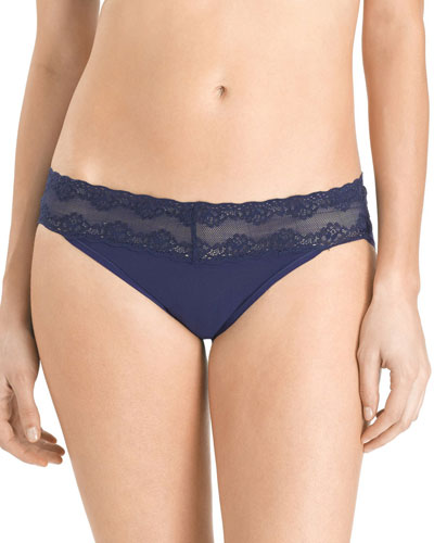 Bliss Perfection V-Kini Briefs, Midnight (One Size)
