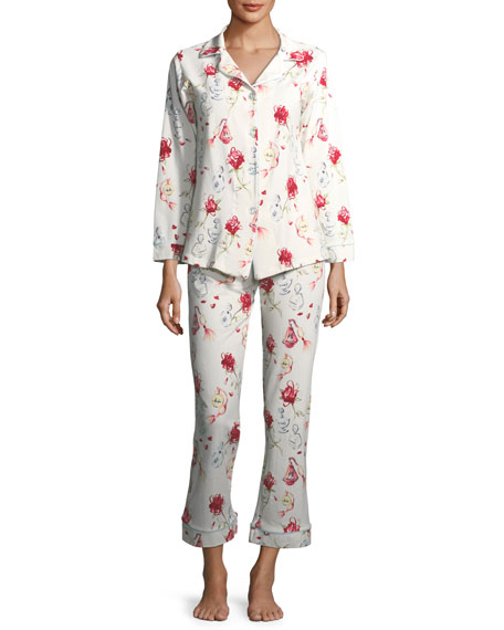 Eau de Parfum Long-Sleeve Pajama Set