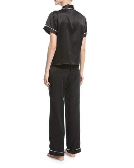 Tami/Chantal Silk Pajama Set