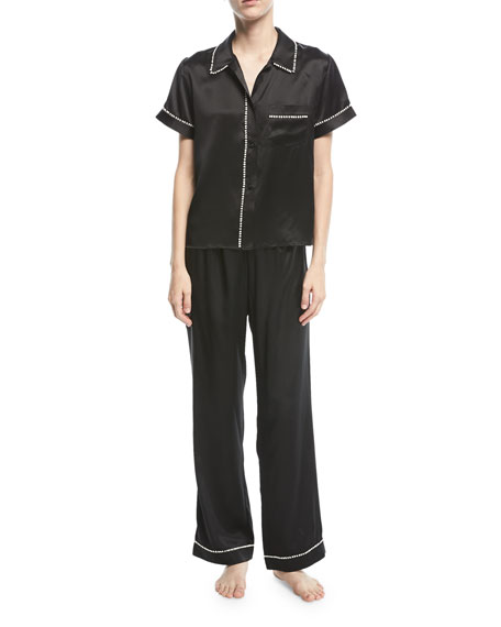 Tami/Chantal Silk Pajama Set