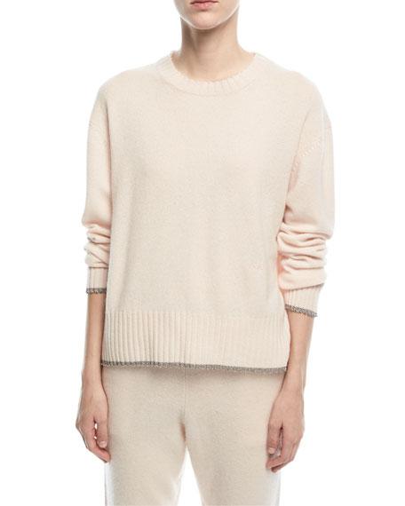 Charlee Crewneck Cashmere Sweater