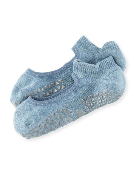 Chey Mary Jane Grip Socks, Tavi Breeze