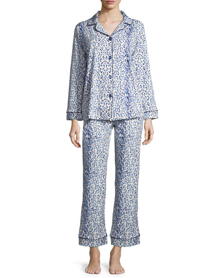 Mighty Jungle Long-Sleeve Classic Pajama Set, Plus Size