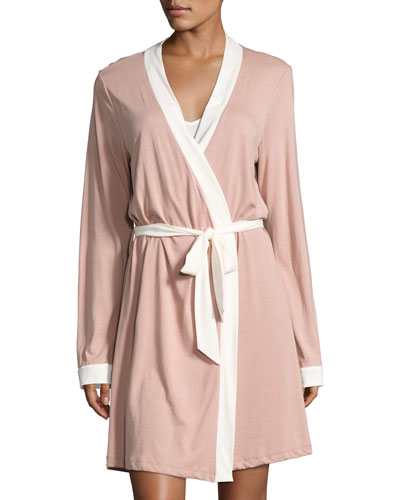 Bella Bridal Cotton-Blend Robe