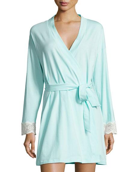 Sonia Lace-Cuff Robe