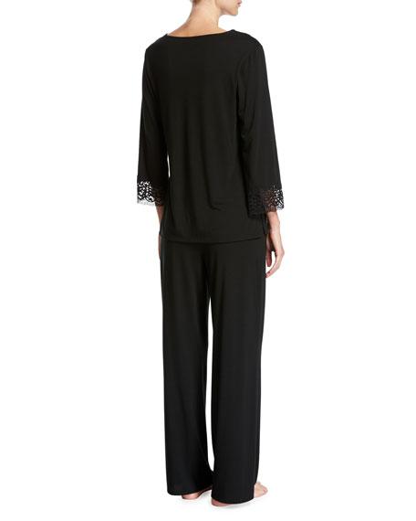 Lhasa Silk Jersey Pajamas