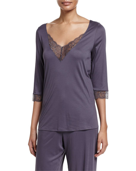Ginevra 3/4-Sleeve Lounge Top