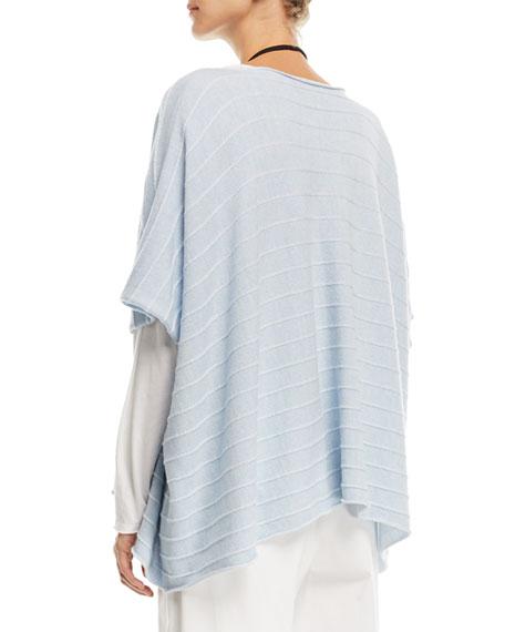 Hand-Loomed Merino Wool Kaftan