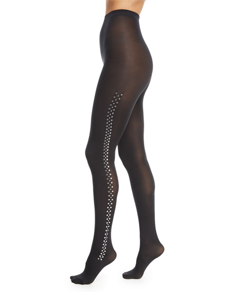 Wolford Roxanne Stud-Embellished Tights